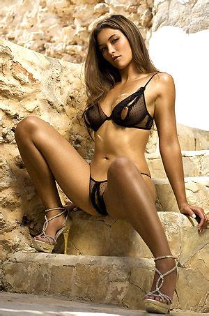 Irene Hoek In Sexy Lingerie