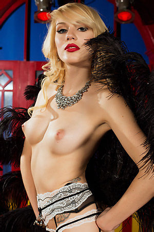 Hayden Hawkens In Sexy Lingerie