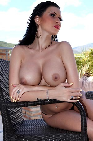 Lilly Roma Strips Nude
