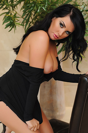 Ann Denise Sexy Black Dress