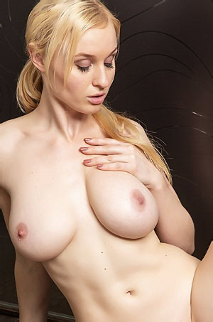 Busty Blond Micha Playing With Herself