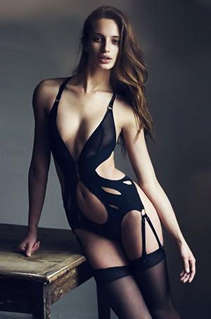 Loris Kraemerh In Amazing Sexy Lingerie