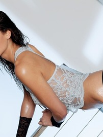 Tiffany Thompson In Lace Lingerie