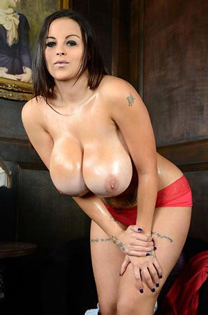 Terri Jane Shows Off Her Huge Breasts