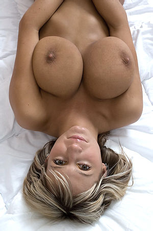 Janet Taylor Big Boobed Blonde Babe