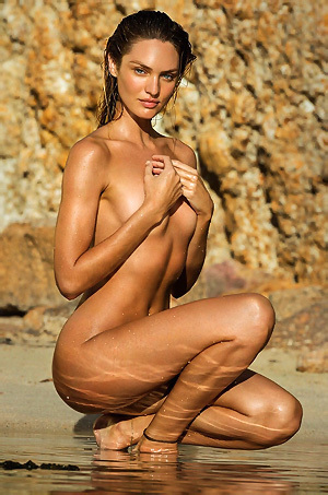 Candice Swanepoel Totally Naked