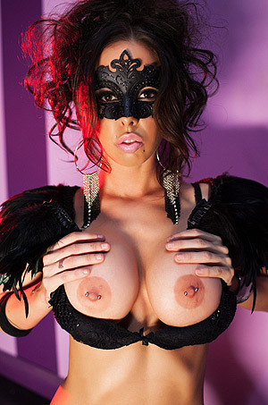 Brandy Aniston In Mask