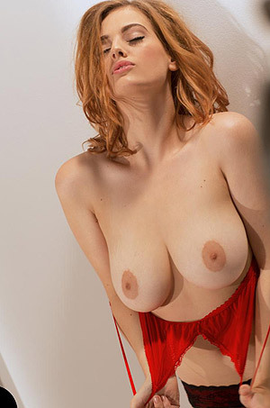 Lottii Rose Taunts And Teases Her Red Bra