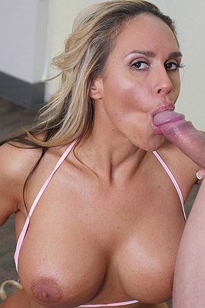 Tegan James Gets Drilled By Her Personal Trainer