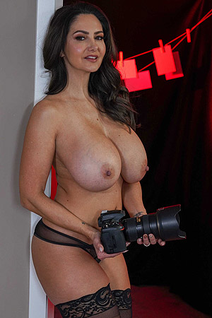 Big Breasted Ava Addams Going Wild